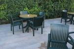 Пластмасова маса за градина, за външно ползване