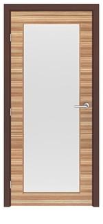 модернистични  интериорни врати с монтаж