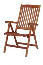Сгъваем стол от евкалипт 124-2609