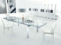 Дизайнерска стъклена маса
