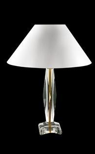 Настолна лампа, цял кристал - JWS50101000 /1-17-3