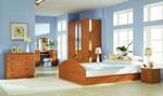 Спалня по поръчка с гардероб с арки и огледало 174-2618