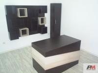 Кабинет с висок шкаф,бюро и етажерка