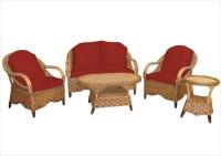 Мека мебел от ратан
