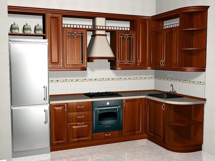 Дизайн кухни 10 метров с барной стойкой