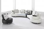 лукс заоблен диван