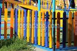 дървени огради за детски площадки по поръчка