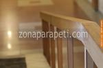 поръчкови дървени парапети