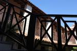 дървени парапети за стълбища, тераси и др
