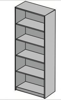 Стелажи с размер 80х40х200см