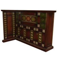 Дървен дизайнерски бар