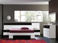 спалня-бяло с черно ПДЧ