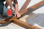 изработване на конструкция от дървен материал