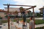 дървени конструкции по поръчка