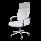 Офис столове - Президентски стол Carmen 6050 - бял
