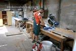изработка на дървени прозорци
