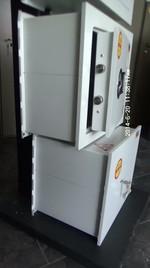 Метални сейфове за вгаждане, с усилена конструкция